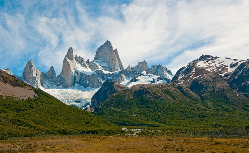 Fitz Roy mountain and Laguna de los Tres, Patagonia, Argentina
