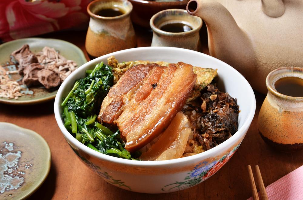 Taiwan stewed pork and rice