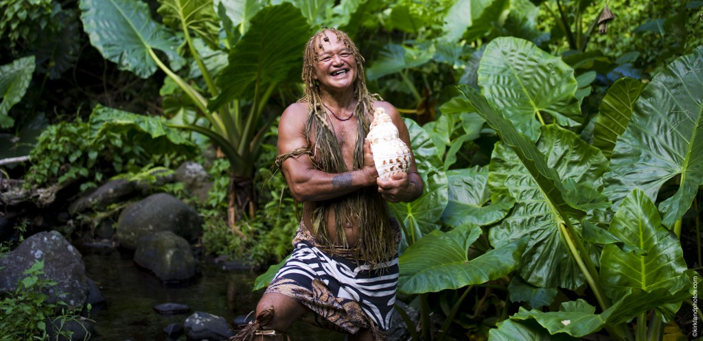 Pa is a 'legendary' nature guide in the Cook Islands