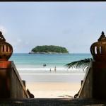 Kata Beach near Phuket, Thailand is great for families
