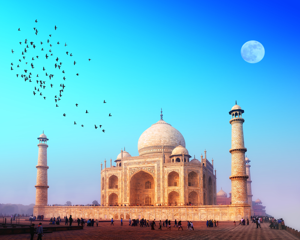 Taj mahal agra india 125853521