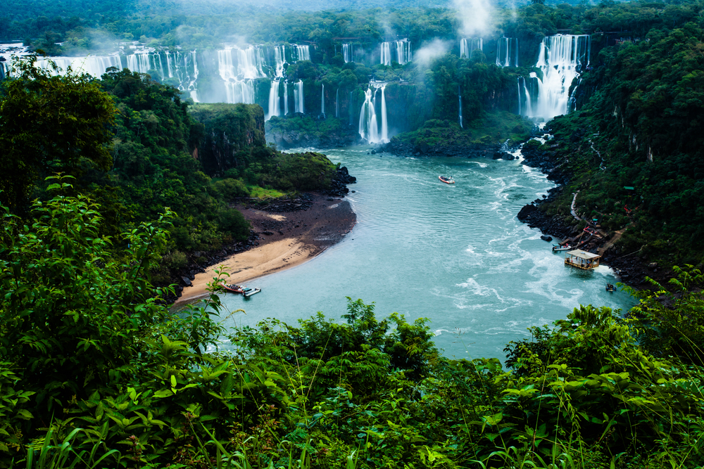 Iguassu Falls from Brazilian Side, Brazil