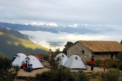 Inca Trail campsite