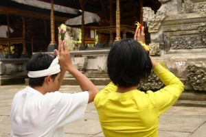 The Balinese are a very spiritual people who take pride in displaying their culture