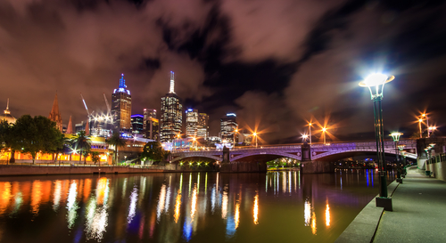 Australia Melbourne Skyline_139919293