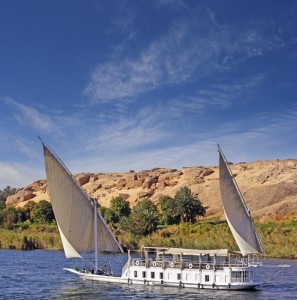 A Dahabiya on the Nile