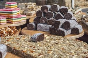 Sweets in Carmel market, Tel Aviv
