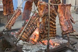 Argentine Traditional Asado or Parilla