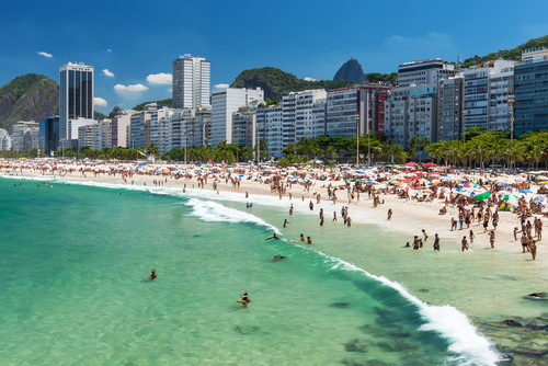 Copacabana Beach, you may have heard of it?