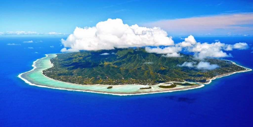 Aerial-Shot-of-Rarotonga