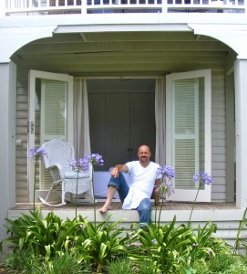 Chef Bruce Robertson at home