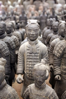 Xian, home to the legendary army of Terracotta warriors