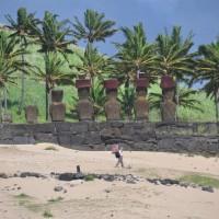 The Moai are actually enormous