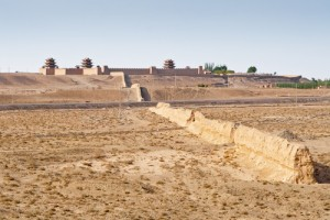 Jiayuguan Pass and Fort, Western China