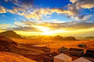 Jordan Sunset Desert Wadi Rum Africa Middle East_173161586