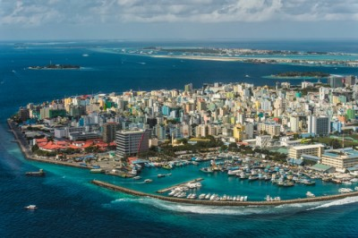 The Maldivian capital, Male