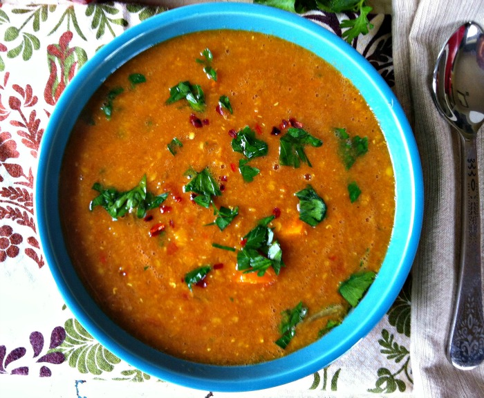 Recipe Moroccan Red Lentil Soup Goway