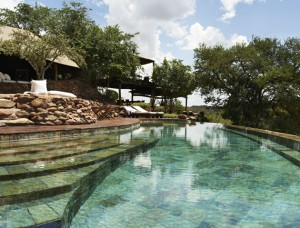 Poolside, Singita Faru Faru Lodge, Tanzania