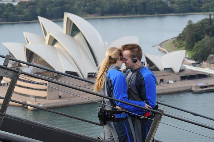 The Sydney Harbour Bridge Climb