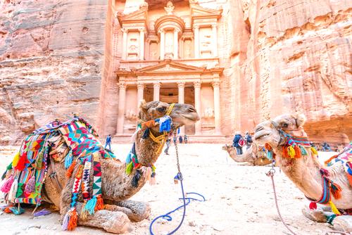 Petra's famous treasury, Jordan
