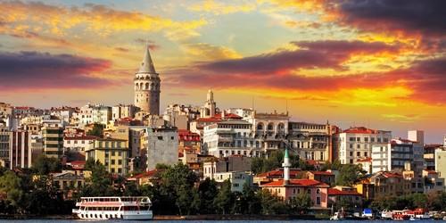 The Galata District, Istanbul, Turkey