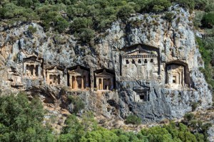 Tombs of Lycia near Kaunos