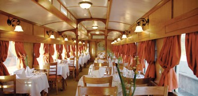Shongololo Dining Car