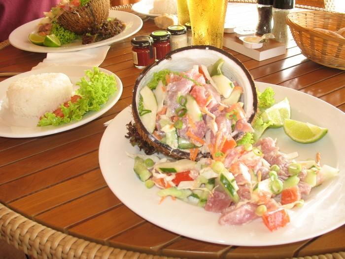 Poisson Cru, Tahiti's equivalent of ceviche
