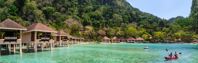 Overwater Bungalows Philippines