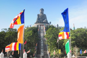 Lantau Island Buddha Hong Kong China Asia_77460880