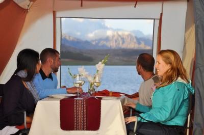 Peru Luxury Inca Trail unch tent
