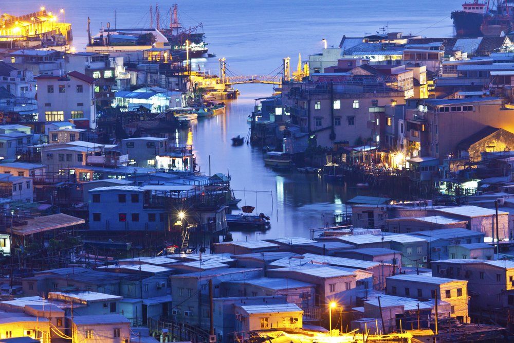 Tai O Lantau Island Hong Kong China Asia_