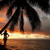 Fiji Sunset beach_177308981