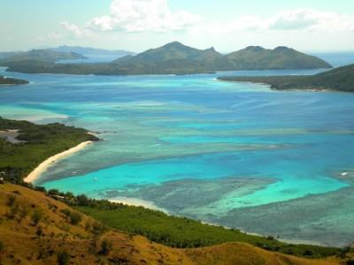The Yasawa group of islands, Fiji