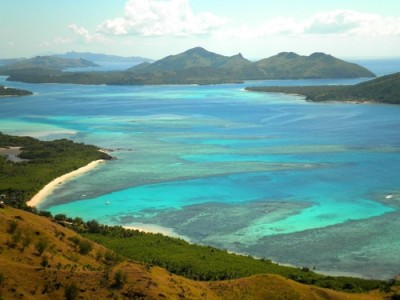 The Yasawa group of islands, Fiji