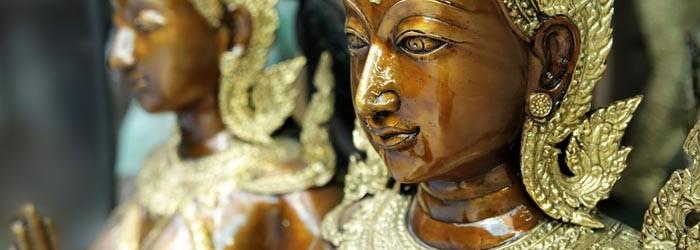 Kinnara statue a mythological creature