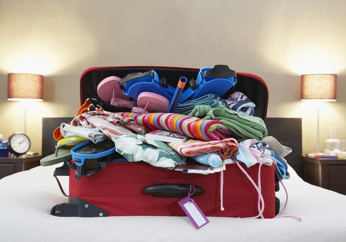 Don't over pack for your trip
