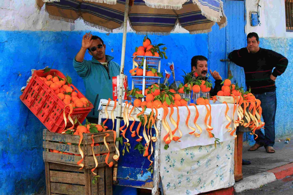 Oranges for sale in Rabat, Morocco