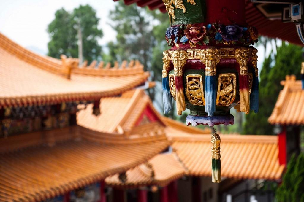 Wunwu Temple, Nantou, Taiwan