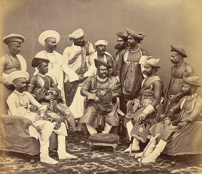 The Maharaja Scindhia of Gwalior with his State Officials