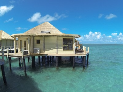 Coconut Beach Club Samoa - the only resort with overwater bungalows