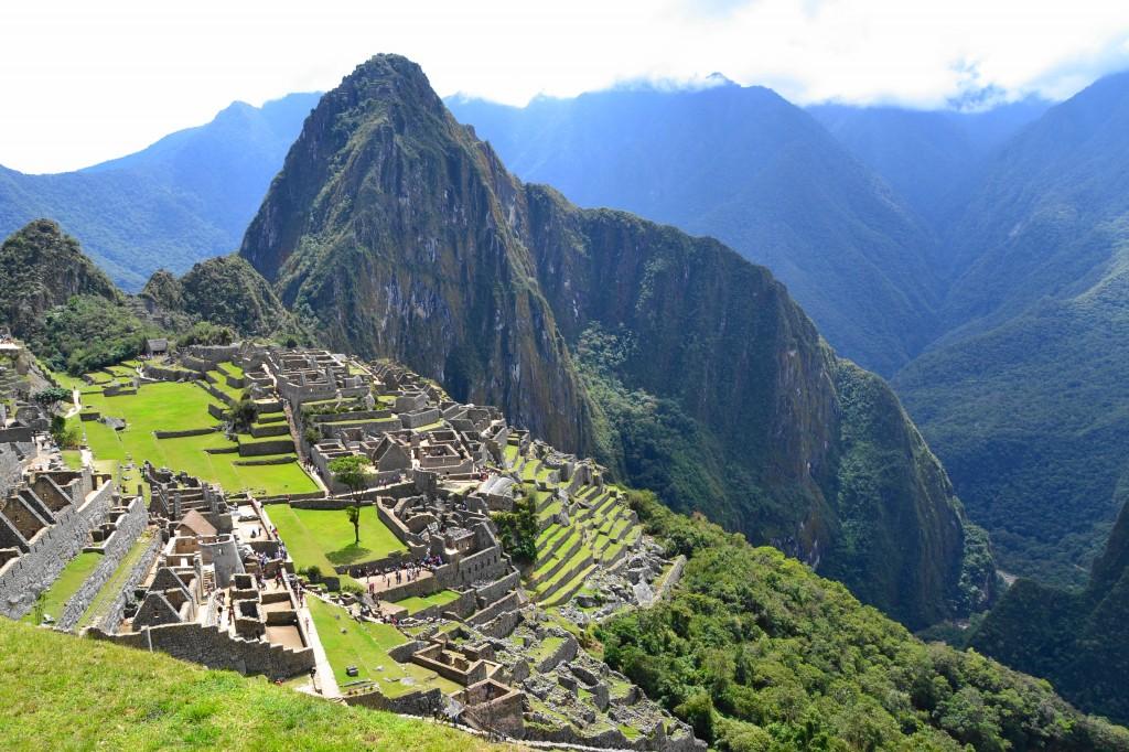 Machu Picchu: Ancient city of the Inca.