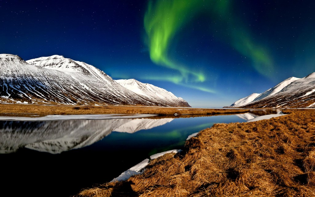Majestic surprises above and below in Iceland.