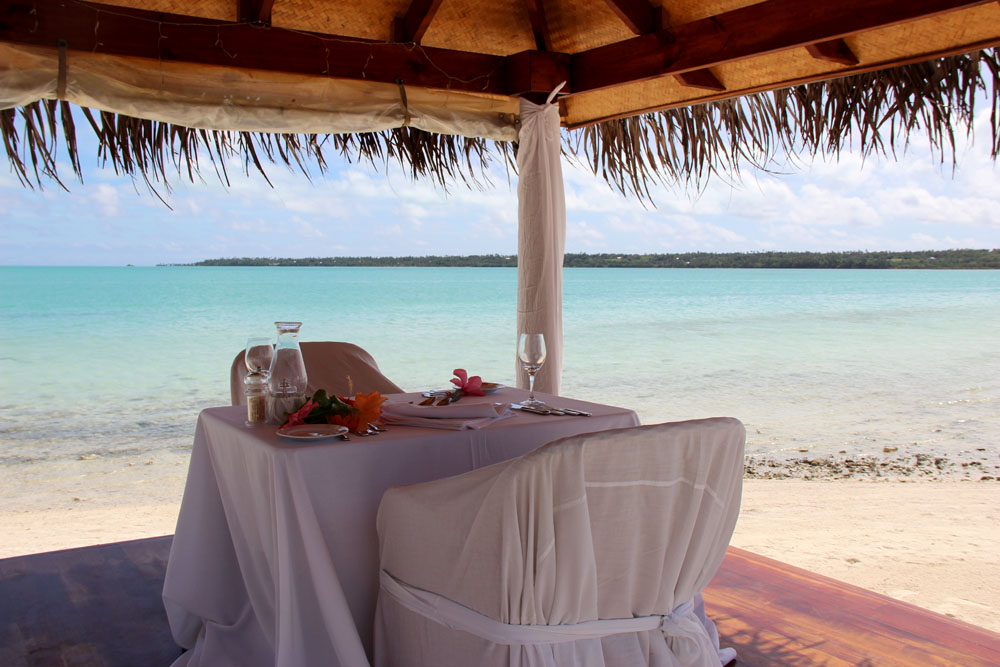 Aitutaki Romantic Dinner for Two on Beach, Cook Islands