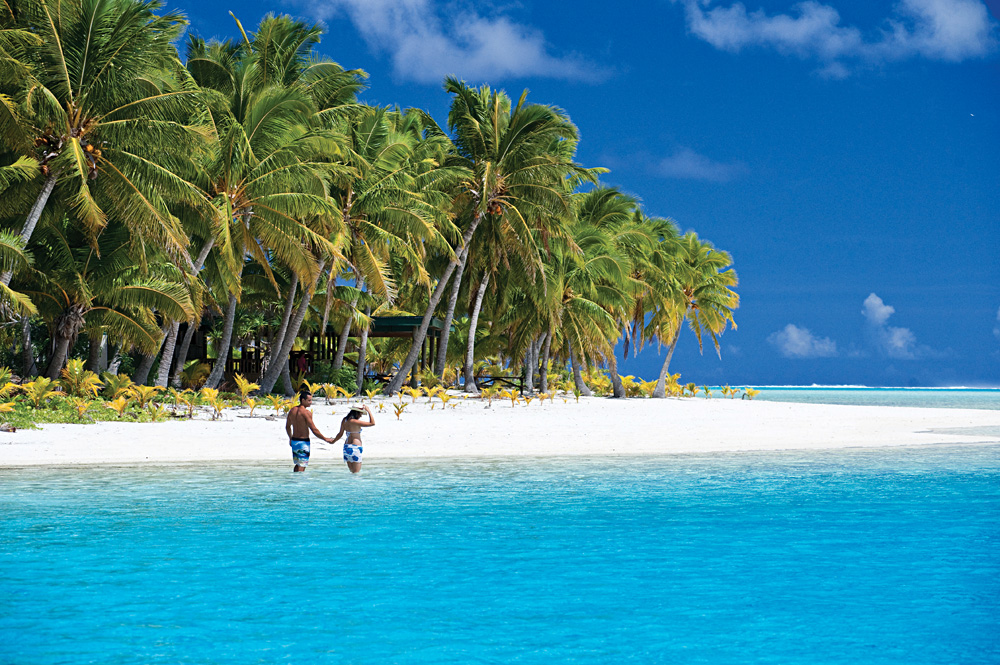 Aitutaki's One Foot Island, Aitutaki, Cook Islands