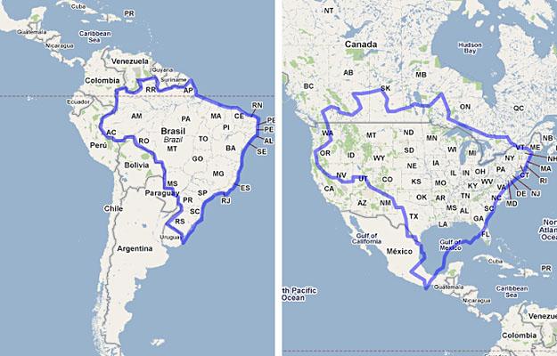Brazil vs. North America