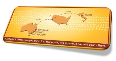 Australia: It's closer than you think!