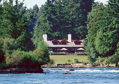 Huka Lodge in Taupo