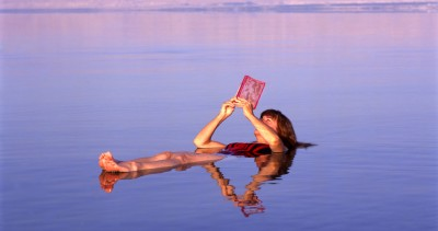 Floating in the Dead Sea is an essential inclusion for all Jordan tours.