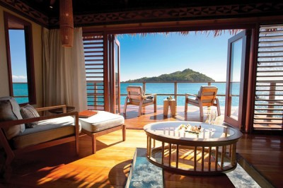 View from an overwater bungalow